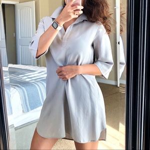 Anthro CLOTH & STONE Gray Tunic Dress